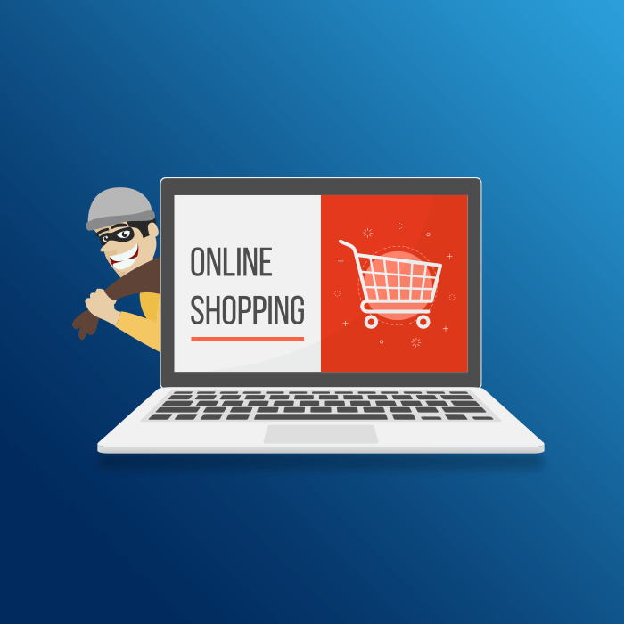 internet security scam for online shopping