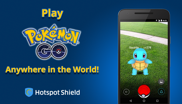 Play Pokémon games at school for free with Hotspot Shield VPN