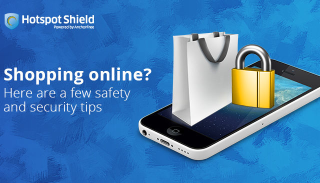 Shopping online? Here are a few safety and security tips