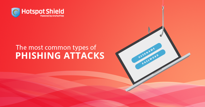 The most common types of phishing attacks