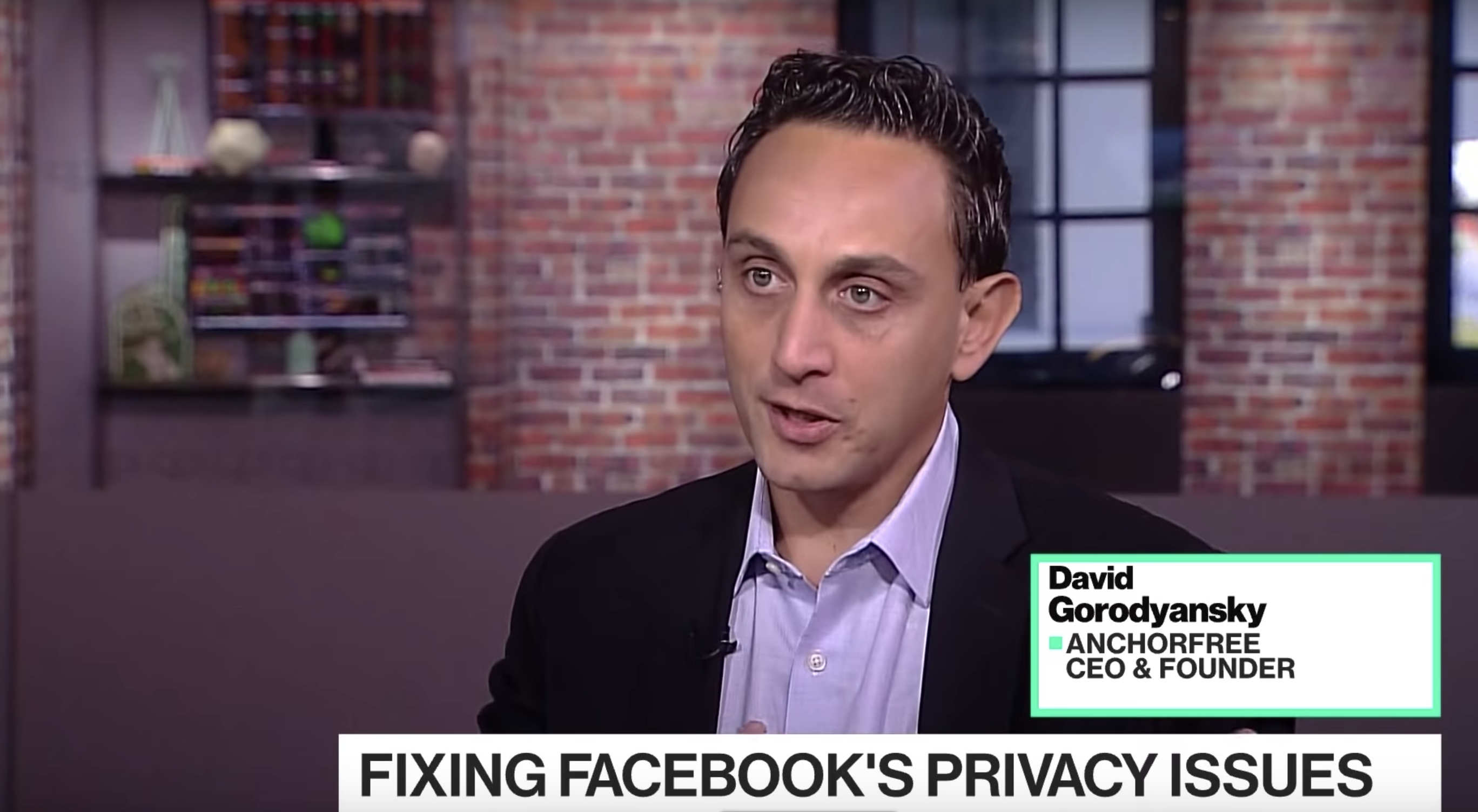 "David Gorodyansky: ""My biggest concern with Facebook is that they're buying data"""